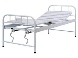A401 Manual two-crank three-folded bed