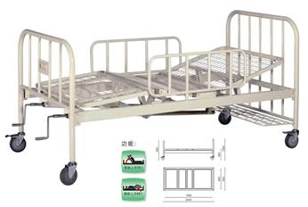 A422-2  Two Crank Three Folded Bed