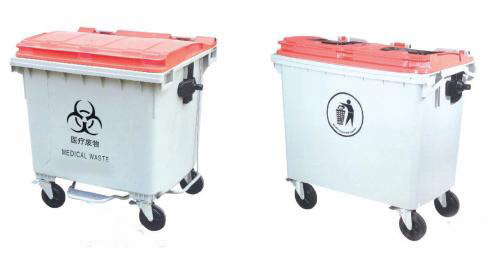 Big Medical Waste Bin